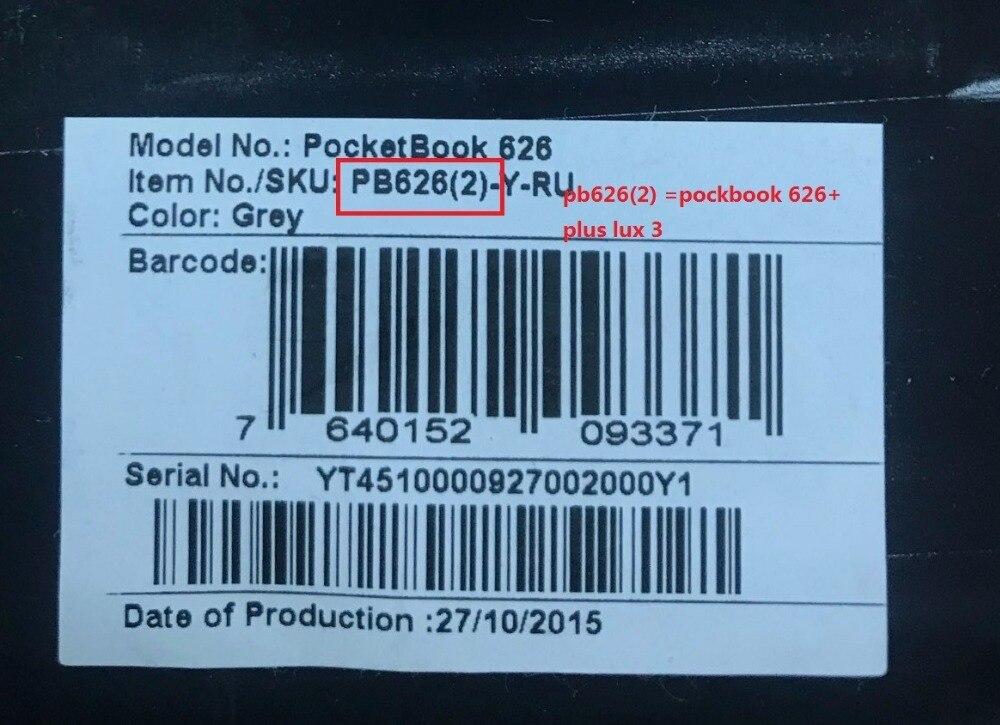 Écran lcd et tactile de 6 pouces avec rétro-éclairage pour PocketBook touch Lux 3 626 Plus 626 + 2GEN PB626 (2)-affichage matriciel du lecteur de D-WW - 3