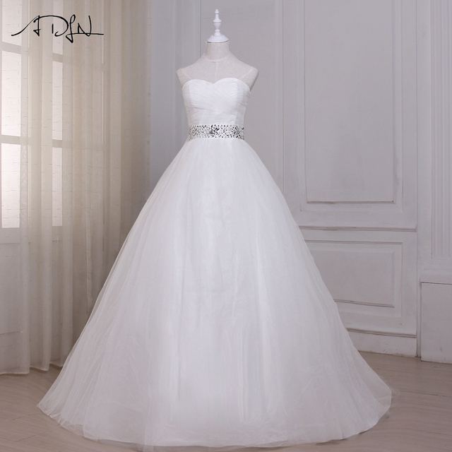 Princess a line wedding dress