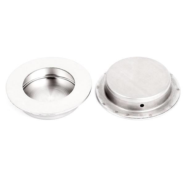 BIFI-Sliding Door Drawer 60mm Round Recessed Flush Pull Handle 2pcsBIFI-Sliding Door Drawer 60mm Round Recessed Flush Pull Handle 2pcs