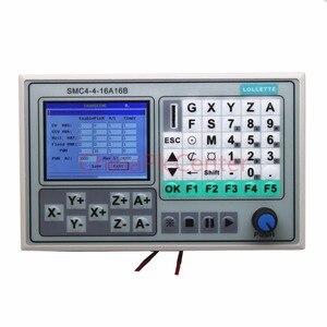Image 5 - משלוח חינם 50KHZ CNC 4 ציר מחובר הבקר הבריחה לוח גילוף חריטת מכונת בקרת מערכת כרטיס SMC4 4 16A16B
