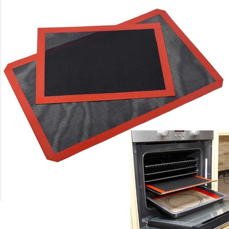 Новый перфорированный силикон коврик для выпечки антипригарный противень