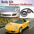 Для Porsche Boxster 986 987 Бампер Губы/Автомобиля Губы магазин Спойлер Для Тюнинга Автомобилей/TOPGEAR Body Kit + Полосы
