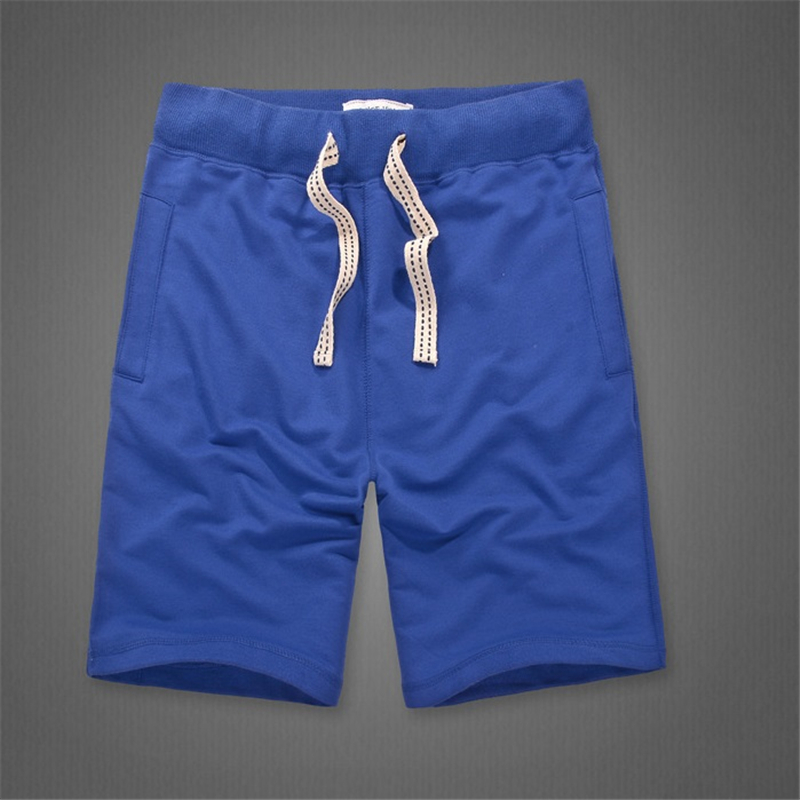 Vetement Homme 2018 Mens Shorts 100% Cotton Solid Color Beach Short Men Sweatpants