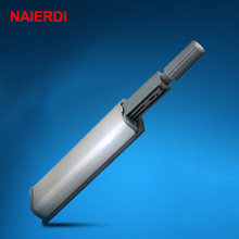 10PCS NAIERDI Door Stopper Cabinet Catches Stainless Steel Push to Open Touch Damper Buffer Soft Quiet Closer Furniture Hardware 10 pcs cabinet latch door drawer push to open system damper buffer catch dropshipping 323
