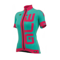 ALE Pro Team Women Cycling Jersey Short Sleeve Shirts Ropa Ciclismo Breathable Quick Dry MTB Mountain