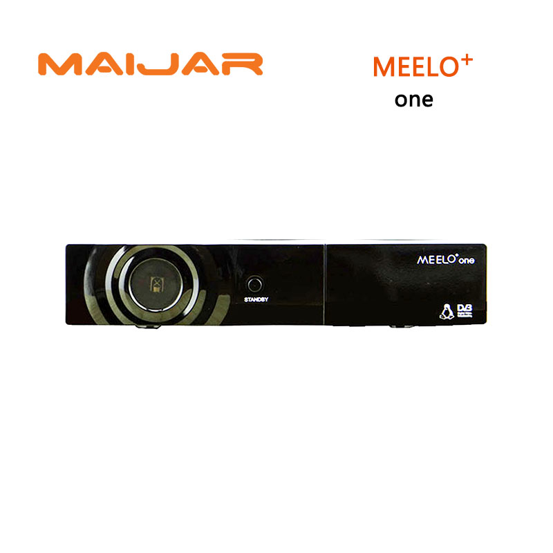 New DVB-S2 digital Satellite Receiver Meelo + one Enigma2 decorder Linux set top box ME ELO + ONE tv receiver with usb wifi satellite tv receiver x international tv box set top box tv receiver set w remote controller