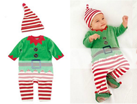Christmas Gift Hot Baby Rompers Santa Claus Baby Clothes Children Romper Newborn Boys Girls Rompers For