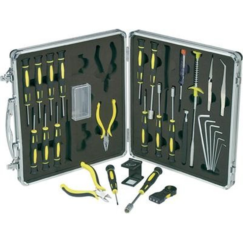 New 30 Piece Precision Mechanic/Electronics Enthusiast Tool Set Gift Tool Hand Tool Set цена