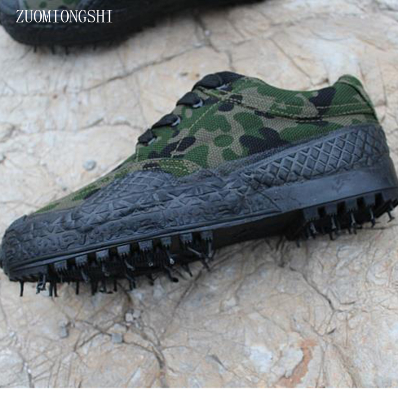 2018 Botas Militar Real Medium(b,m) Boots Non-slip Camouflage army military Shoes canvas Shoe Askeri Bot Botas Militares Hombre ...