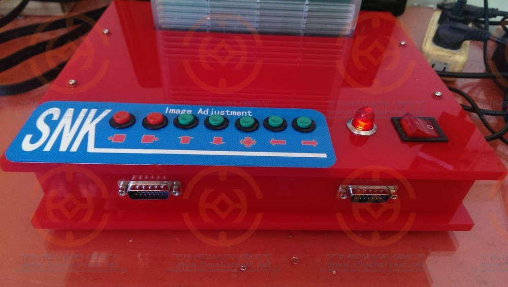 все цены на NEW RED JAMMA CBOX MVS SNK NEOGEO MVS-1C to DB 15P SNK Joypad With VGA & HDMI output it need booking and available in 50 days онлайн
