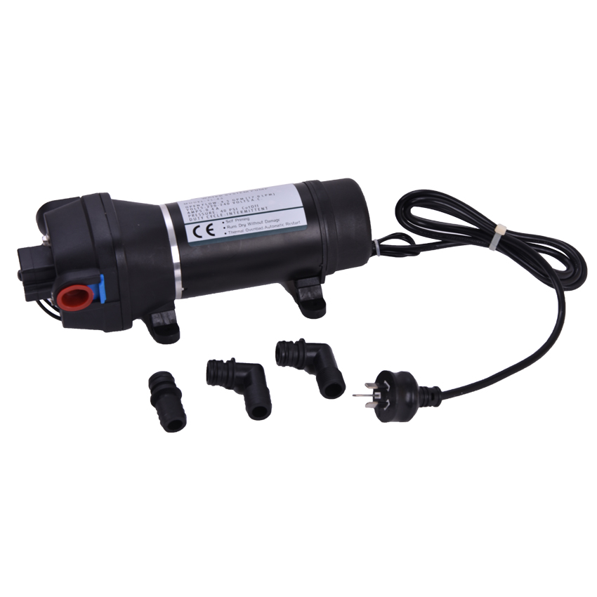 FL-43 AC 220V /110V 17L/min Full Auto Family Self-priming pump Membrane To The Water Heater Trail Pipeline of Water Supply 0 75kw self priming water pump for high rise wells in the river lake 220v household jet garden pump 4 5m3 h big capacity