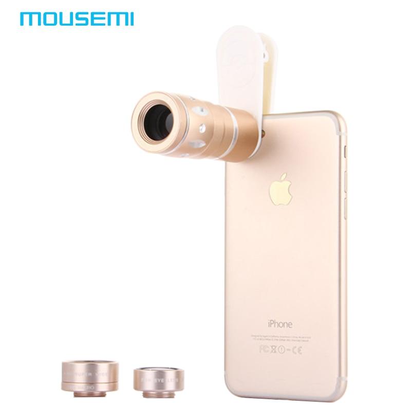 imágenes para 4en1 180 10x 15x 0.36x Teleobjetivo Gran Angular Macro Ojo de Pez lente para iphone 7 6 5s teléfono móvil de la cámara lentes telescopio prestado