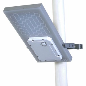 Image 1 - HEX 780X Warm White All in One Waterproof Day/Night Sensor 3 Power modes Solar Powered LED Street Light Solar Outdoor Light