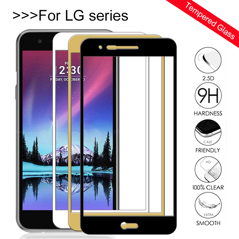 Protective Glass For Lg k10 2017 Screen Protector Tempered Glas on For LG k8 2016 k 8 <font><b>10</b></font> <font><b>2018</b></font> 8k 10k lgk10 Protection Cover Film image