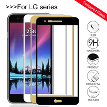 Protective Glass For Lg k10 2017 Screen Protector Tempered Glas on For