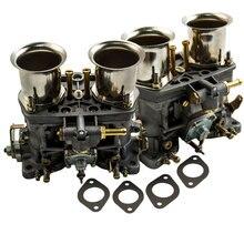 2 قطعة زوج واحد 2 برميل 40IDF Carburettor الهواء القرن لشركة فولكس فاجن علة 40 IDF المكربن Carb