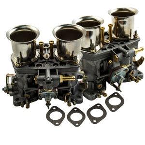 Image 1 - 2 قطعة زوج واحد 2 برميل 40IDF Carburettor الهواء القرن لشركة فولكس فاجن علة 40 IDF المكربن Carb