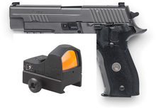 Vector Optik SIG P226 Pistol Taktis Mini Sphinx 1X22 Refleks Red Dot Sight dengan Adaptor Mount Plate(China)