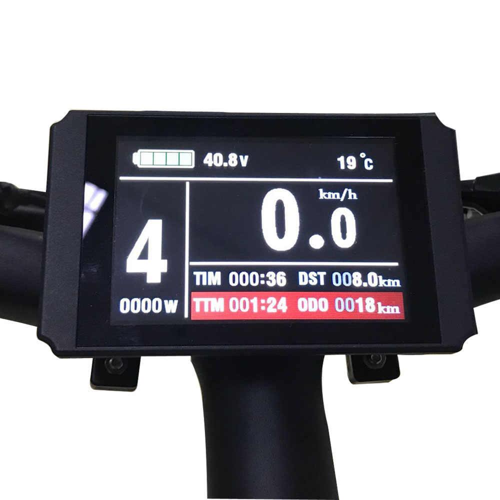 """E BIKE 48 فولت 1500 واط دراجة كهربائية عدة مجموعة تحويل الدراجة العاديّة إلى كهربائيّة ل 20 """"24"""" 26 """"25"""" 27.5 """"29"""" 700C أمامي عجلة محرك"""