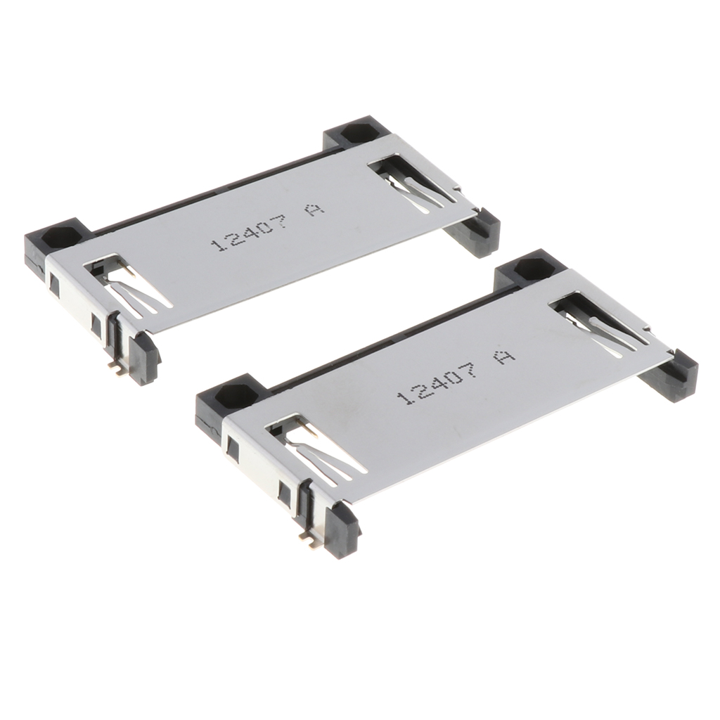 Image 2 - 2 Pcs Durable 50pin CF Card Memory Part Connector Adapter Reverse Deck CF Card Memory Part Connector for PCB 3C numerical code-in Mobile Phone Flex Cables from Cellphones & Telecommunications