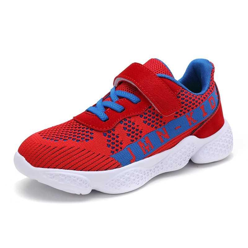 เด็กรองเท้าเด็กรองเท้าวิ่งรองเท้าผ้าใบสบายๆตาข่ายรองเท้านุ่มเทรนเนอร์แบรนด์ 2019 กีฬารองเท้าเด็กเด็กรองเท้า