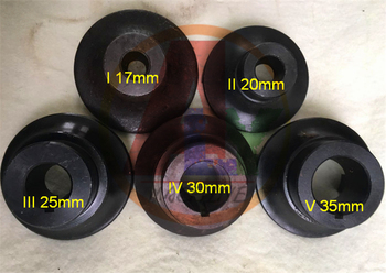 5PCS 17-35mm Diesel Pump Connect Coupling For Diesel Test Bench, Diesel Pump Repair Tool Parts