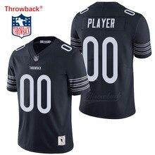 Salto Jersey hombre Jersey de Chicago Camisetas fútbol americano Jersey  personalizado tamaño S-XXXL Color c87bb4efd5f