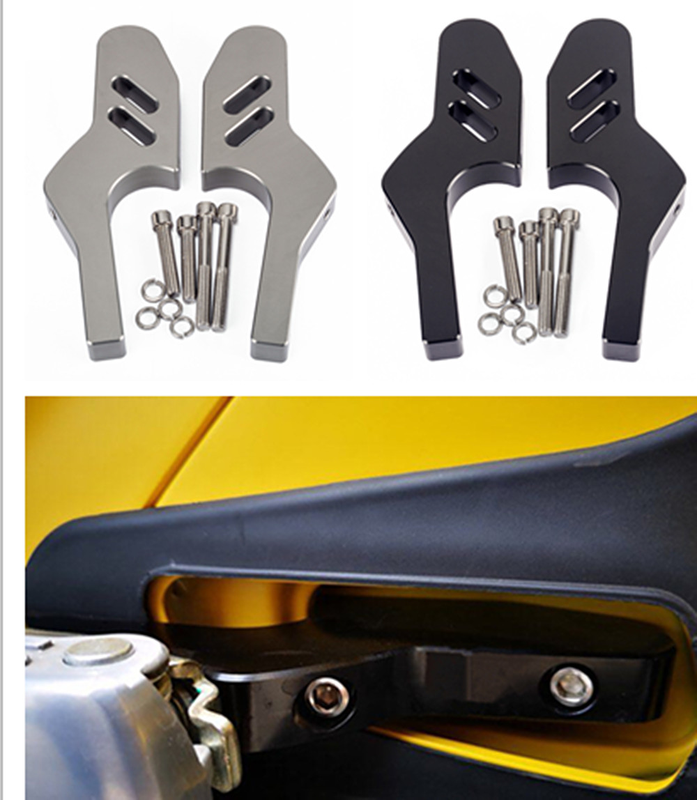 New Passenger Foot Peg Extensions Extended Footpegs for Vespa GT GTV 125 GTS 125ie Super GTS 125 Euro 3