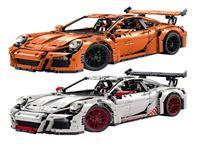 2758PCS LEPIN 20001 20001B Technic Series Race Car Model Building Kits Blocks Bricks Compatible 42056 Boys