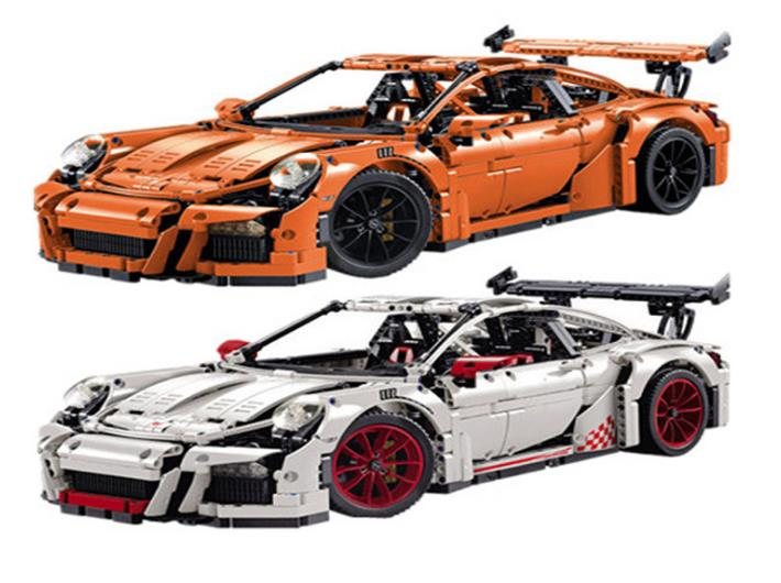 2758PCS LEPIN 20001 20001B technic series Race Car Model Building Kits Blocks Bricks Compatible 42056 Boys Gift Educational Toys lepin 21003 series city car classical travel car model building blocks bricks compatible technic car educational toy 10252
