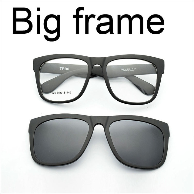 Big Frame Eyeglasses Frame Full Frame Glasses Myopia Frame Wide Face ...