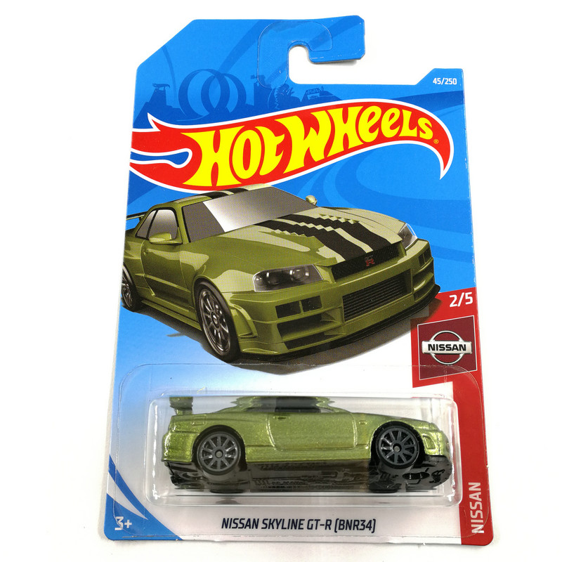 Hot Wheels 1:64 Car NISSAN SKYLINE 2000 GT-R RS Collector Edition Metal Diecast Model Cars Kids Toys Gift