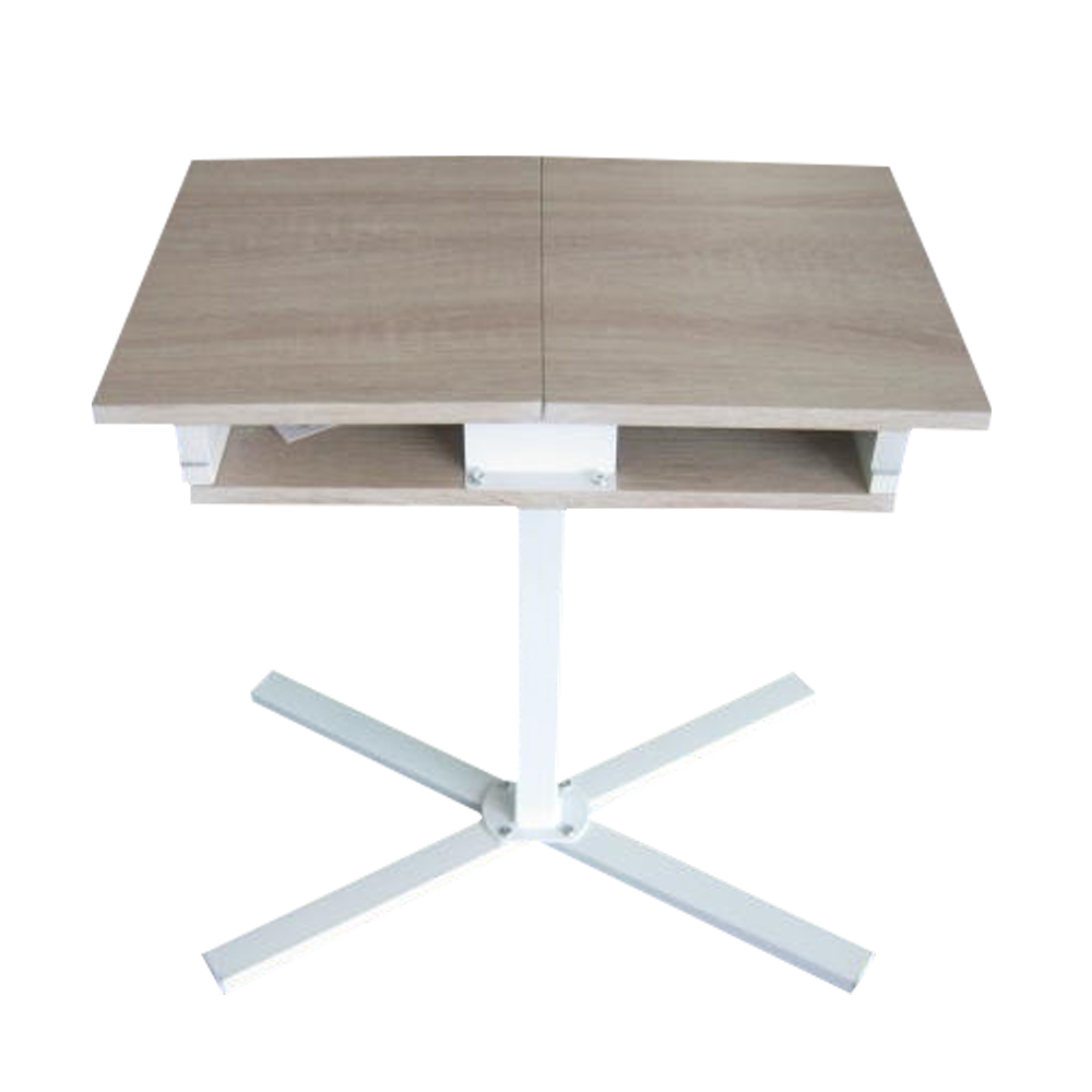 Computer desk table top - Aingoo Laptop Stand Table Desk New Design Foldable Top For Reading Ipad Standing Laptop Computer Adjustable Desk