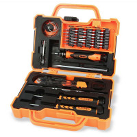 JAKEMY JM 8139 Precision 45 In 1 Electronics Repair Tools Set Multi Bit Screwdriver With Tweezers