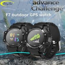 F7 GPS Smart Watch Color LCD Realtime Heart Rate Monitor Altimeter Barometer Smartwatch Activity Fitness Tracker Smart Bracelets