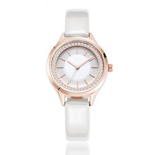 Fashion luxury brand women watches lady leather strap wristwatches female clocks