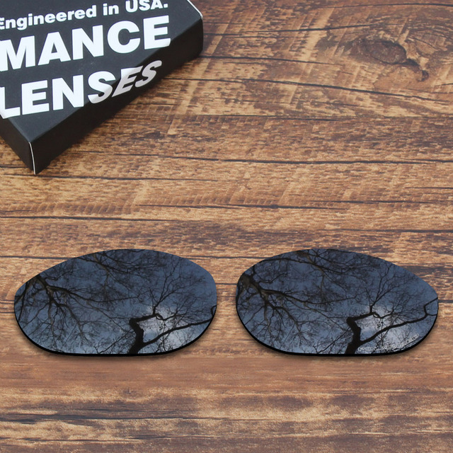 75781190c6 ToughAsNails Resist Seawater Corrosion Polarized Replacement Lenses for Oakley  Monster Dog Sunglasses Black Color (Lens Only)