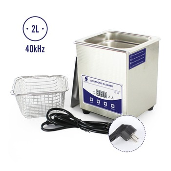Smart Ultrasonic Cleaner 2L Digital Ultrasound Wave Washing Cleaning 7-step timer Intelligent Automatical Jewelry Glasses Watch