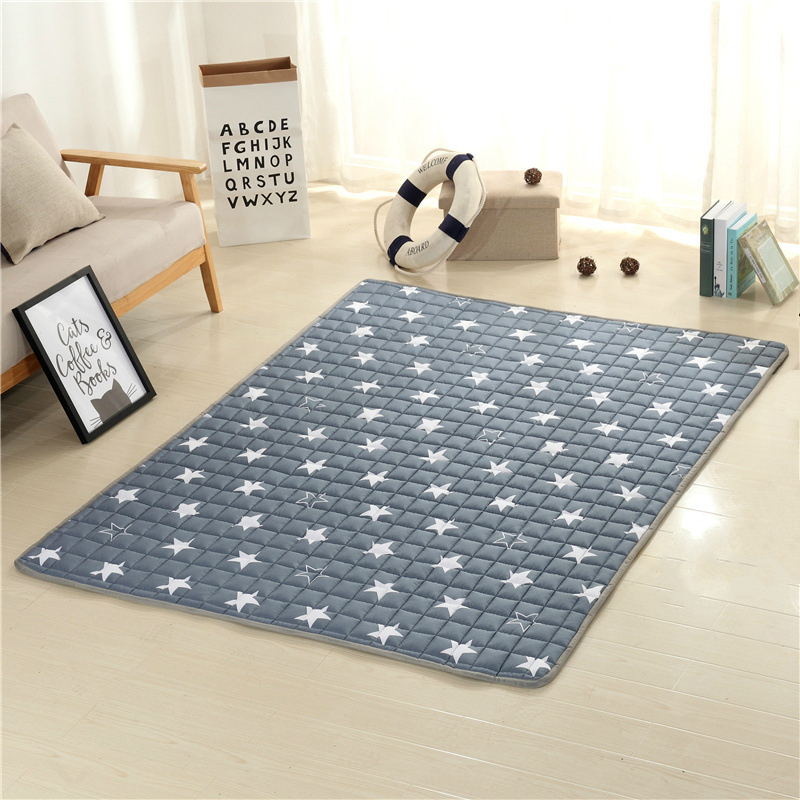 100% Cotton Kids Play Game Mats Rugs Mat Crawling Blanket Floor Carpet For Child Room Decoration Baby Gifts Cartoon Brinquedos actionclub 0 2year baby toy baby play mat game boys girls educational crawling mat play gym kids blanket carpet