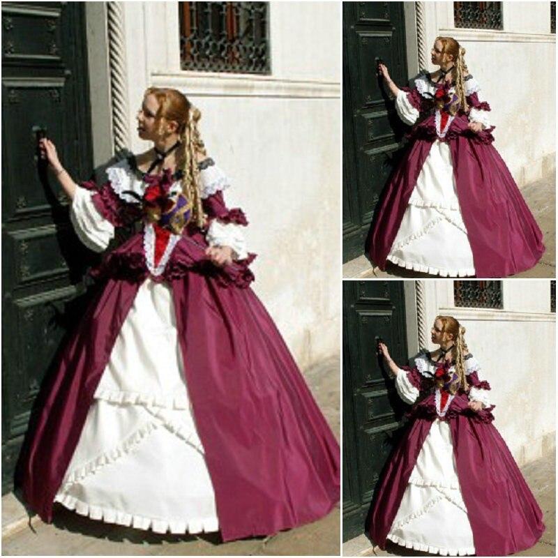SC 242 Victorian Gothic Vintage font b Dress b font Halloween Theater Movie font b dresses