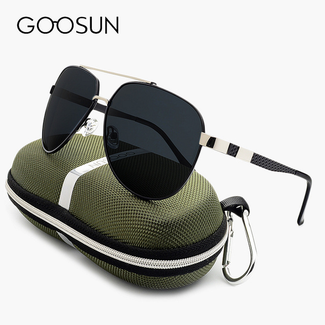 GOOSUN Sunglasses men Polarized Luxury Brand Fishing UV400 big frame Oversized Sun glasses for men Outdoor Sports Eyewear 2017