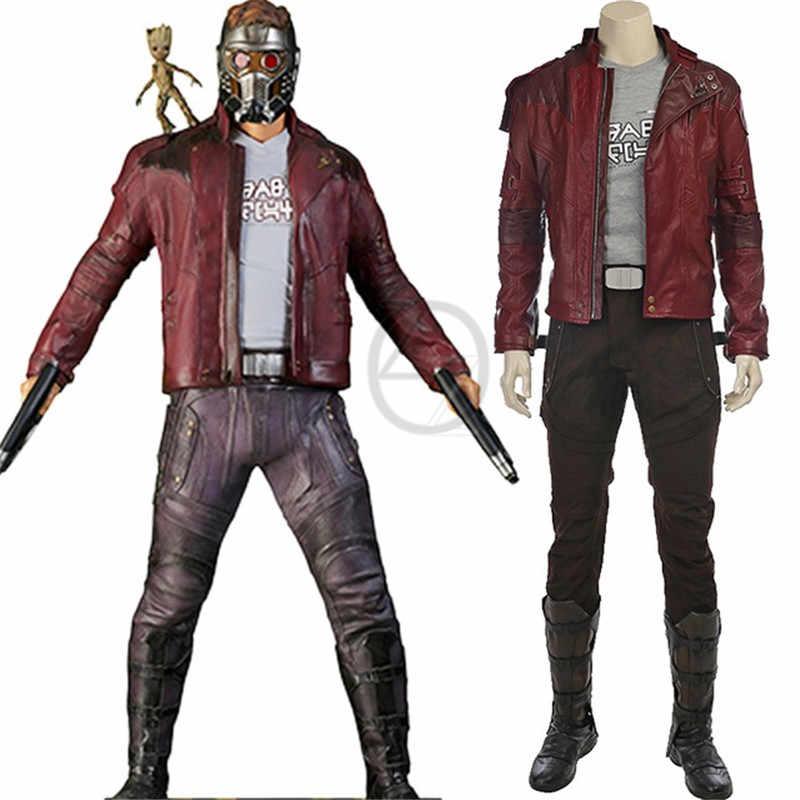 Peter Quill Ngôi Sao Chúa Trang Phục Người Giám Hộ Của Galaxy 2 Cosplay Halloween Trang Phục Ngôi Sao Chúa Hóa Phù Hợp Với Tự Làm Cho nam
