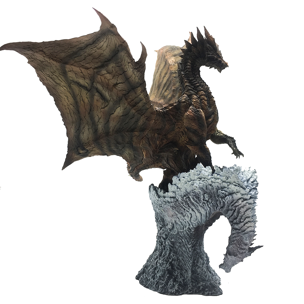 Monster Hunter World Generations Ultimate Dragon Model Collectible Monster Steel dragon Action Figure Toy for kid Christmas Gift цена и фото
