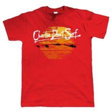 Charlie DonT Surf Maglietta Divertente da Uomo - Regalo per Lui Film Harajuku Tops t shirt Fashion Classic Unique