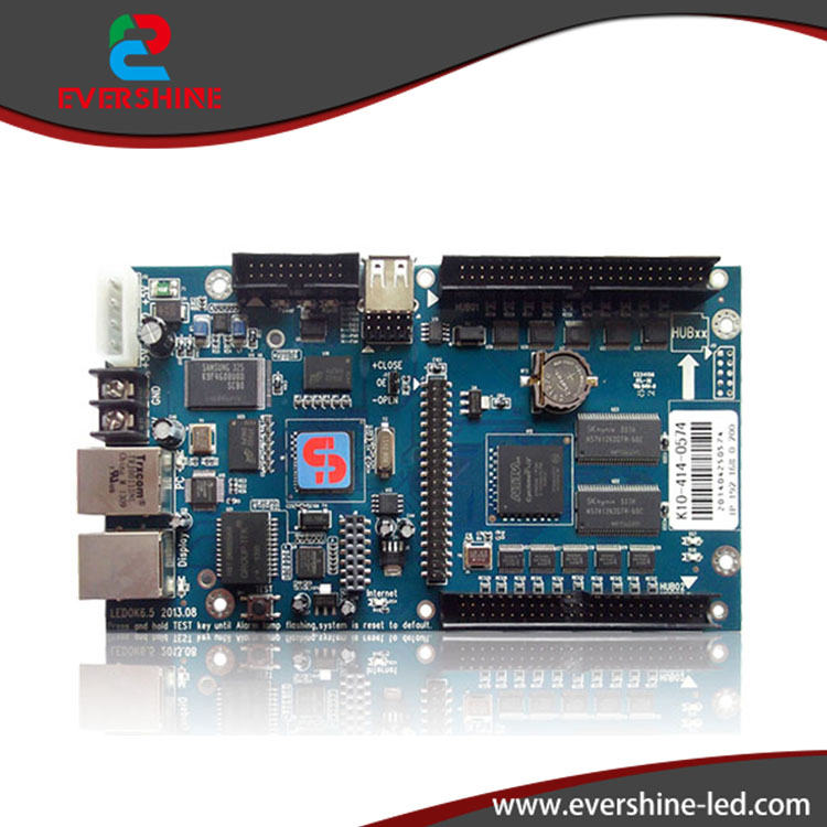 Xixun k10 asychronous rgb 640*480 pixel led controller card for LED module display sending cards xixun k10 asynchronous sending card indoor and outdoor rgb led screen module control range 640x480 pixels