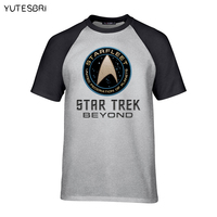 The Latest Summer Brand Clothing T Shirt Star Trek Good Quality Top Tees American Apparel Harajuku