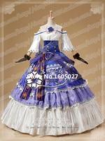 Anime Love Live! Sonoda Umi Cosplay Action Figure Ball Awaken Party Uniform Lolita Full Dress Costume Any Size NEW