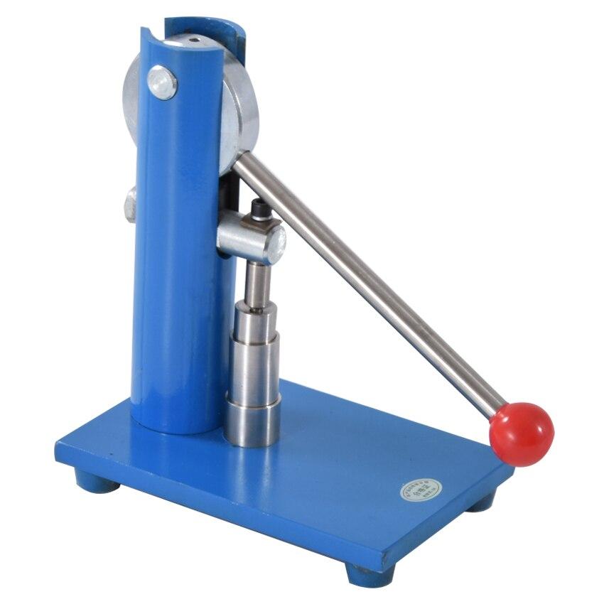 Petite Machine manuelle 12mm/10mm/8mm/6mm/5mm/3mm de comprimé de presse de poudre de laboratoire de presse de comprimé de ménage