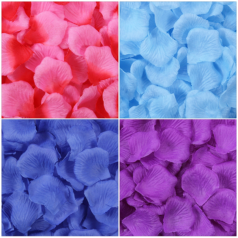 100pcs/pack Romantic Artificial Rose Flower Silk Rose Petals for Party Event Valentines Day Wedding Decoration Favors Pakistan