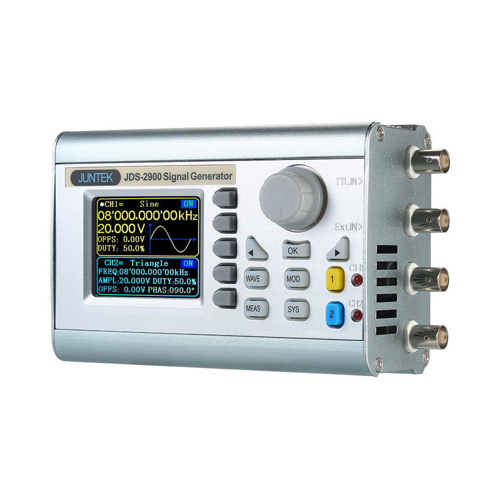 Digital Dual channel DDS Signal Generator Counter Arbitrary Waveform Pulse Signal Generator Frequency Meter JDS2900 60MHz 50mhz digital control dual channel dds function signal generator arbitrary waveform pulse frequency meter